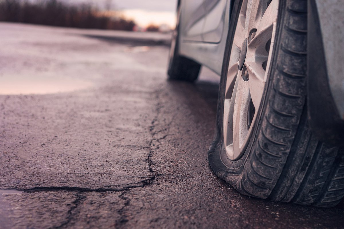 Four Steps to Prevent a Flat Tire